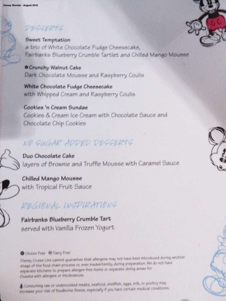 Animators Palate Menu Dessert Wonder August 2016