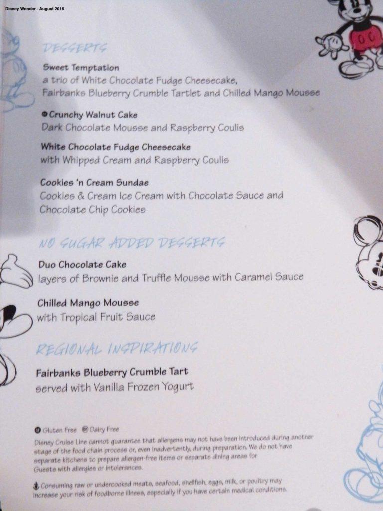 Animators Palate Menu Dessert Wonder August 2016