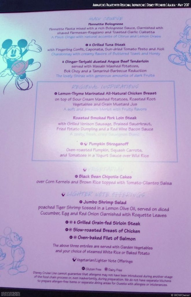 Animators Palate Regional Menu B Wonder May 2017