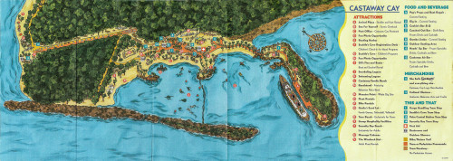 DCL Castaway Cay Map 1998