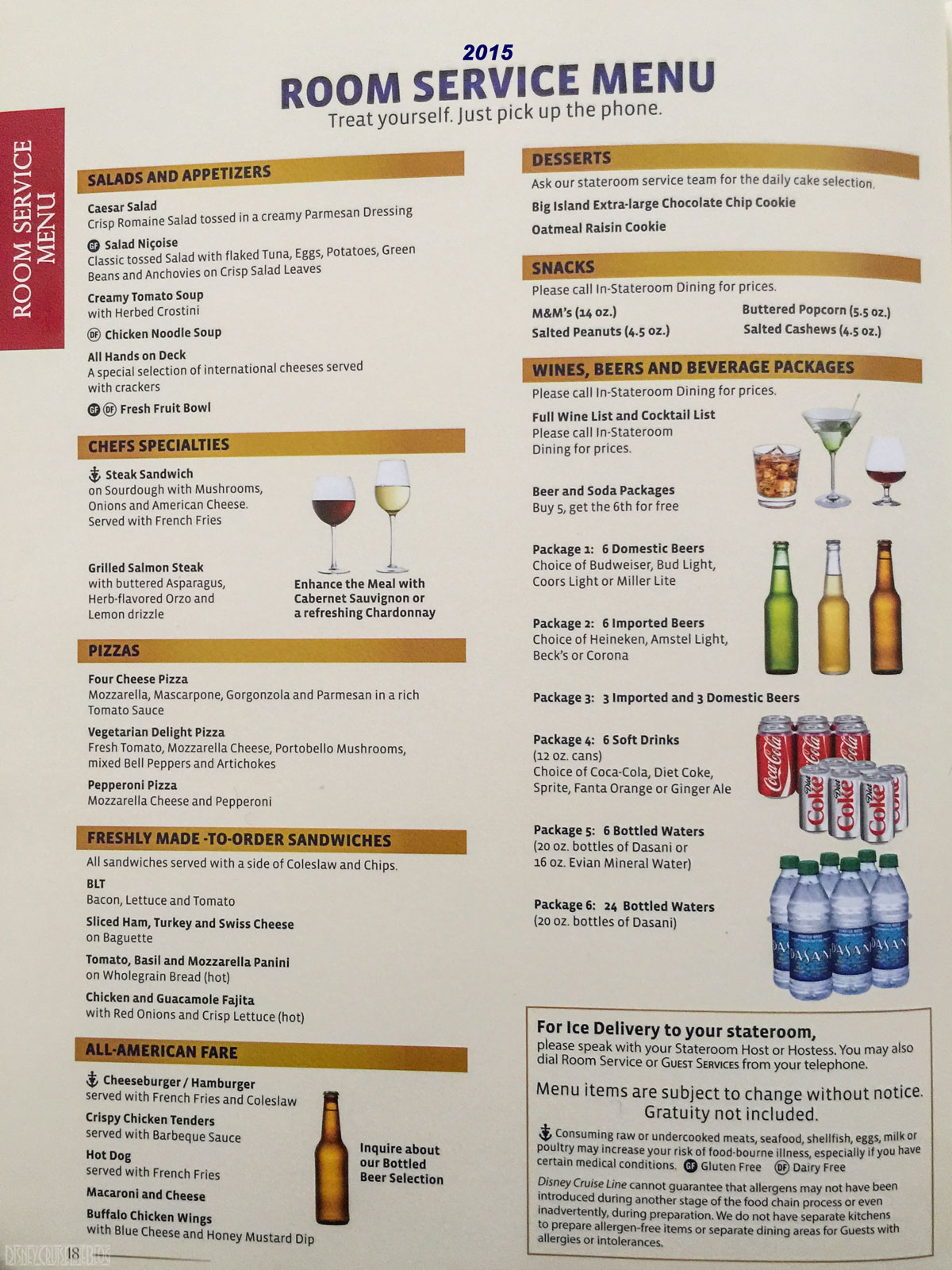 Carnival Victory Room Service Menu Pictures To Pin On