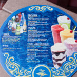 Server's Tray Drink Menu
