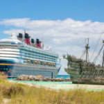 Disney Cruise Line's Disney Wonder versus the Flying Dutchman