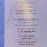 Parrot Cay Menu (2011) - Cocktails, Appetizers, Soups & Salads