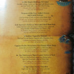 Pirates IN the Caribbean Menu (2011) - Main Course