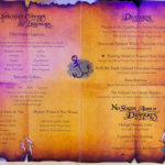 Pirates IN the Caribbean Desert Menu (2011) - Deserts