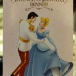 Prince & Princess Dinner - Menu Front Cover