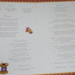 Prince & Princess Dinner - Menu