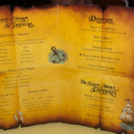 DCL Pirate Night Dessert Menu (Late 2011) - Deserts