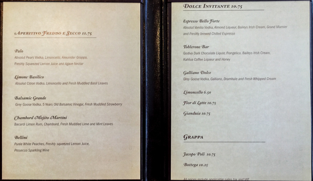 Palo Drink Menu Magic July 2015