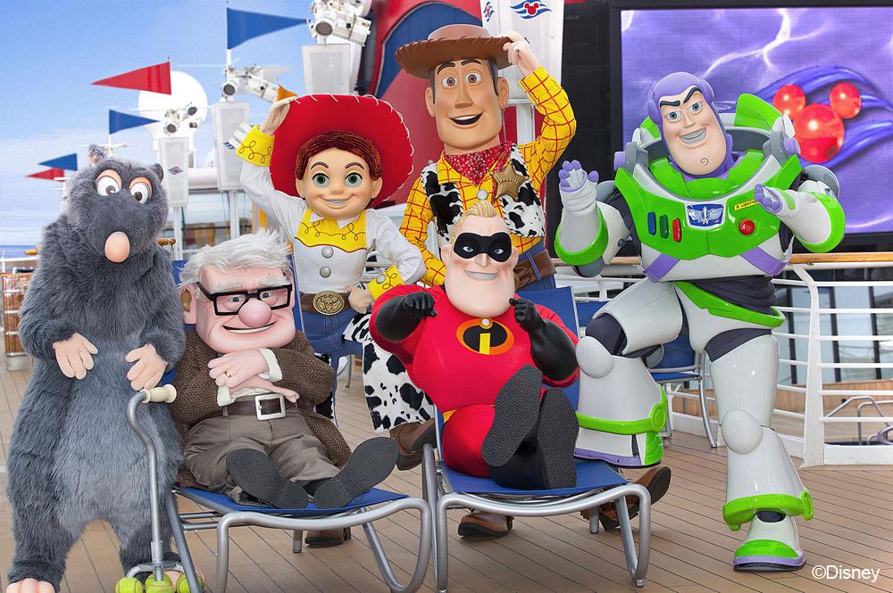 Disney Pixar Presents Pixar Inspired Cruises On The Disney