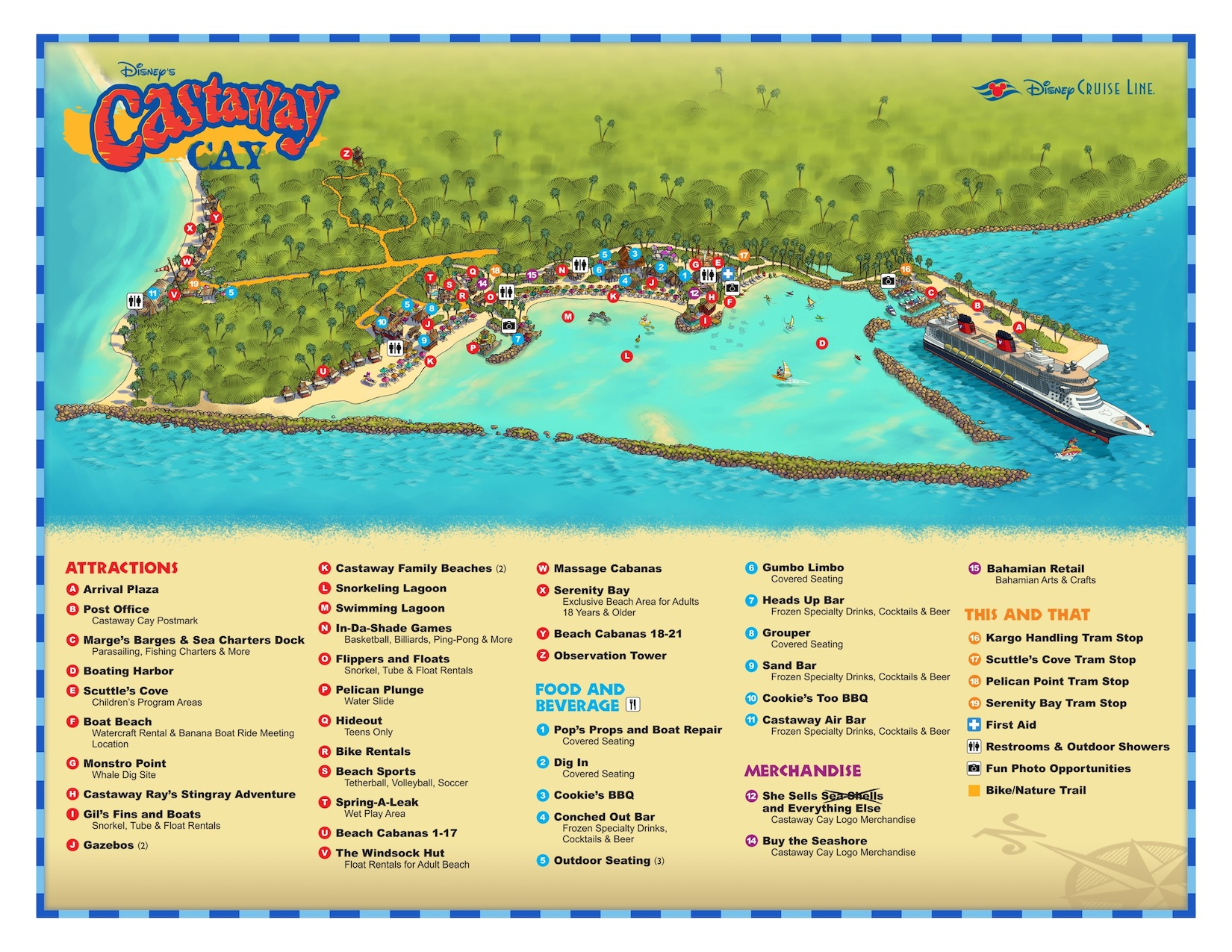 Castaway Cay Information The Disney Cruise Line Blog