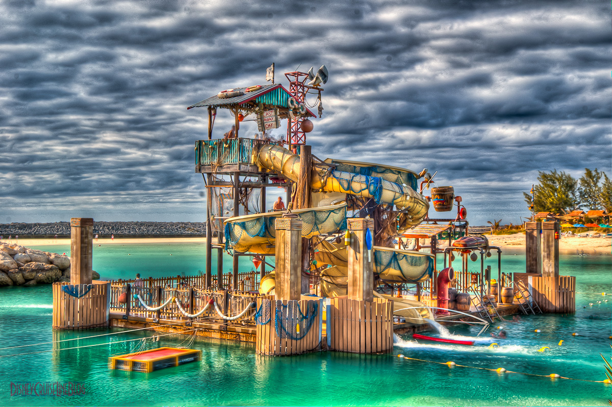 Pelican Plunge HDR Photo
