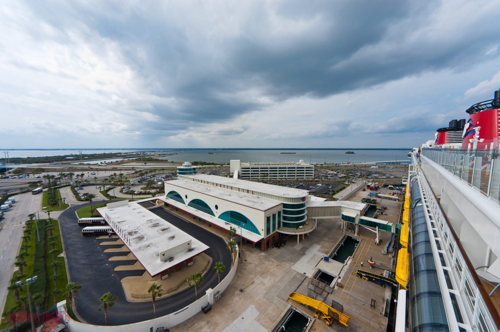 Port Canaveral Parking Garage