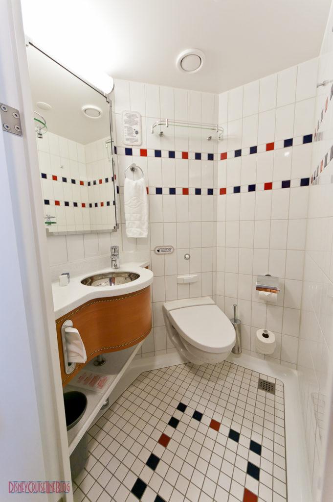 Stateroom 9674 - Split Bath Toilet