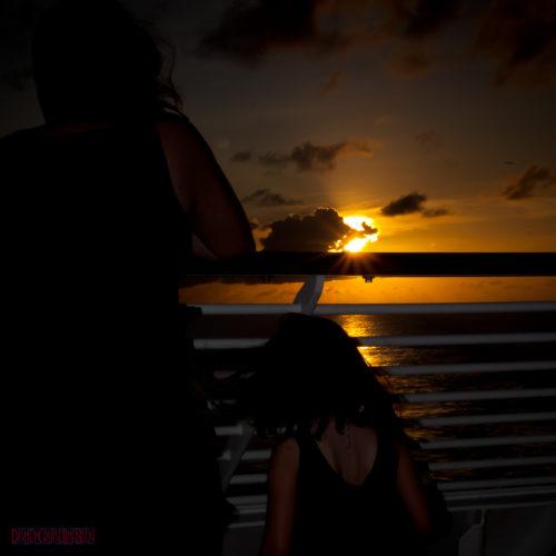 Stateroom 9674 - Aft Verandah Sunset