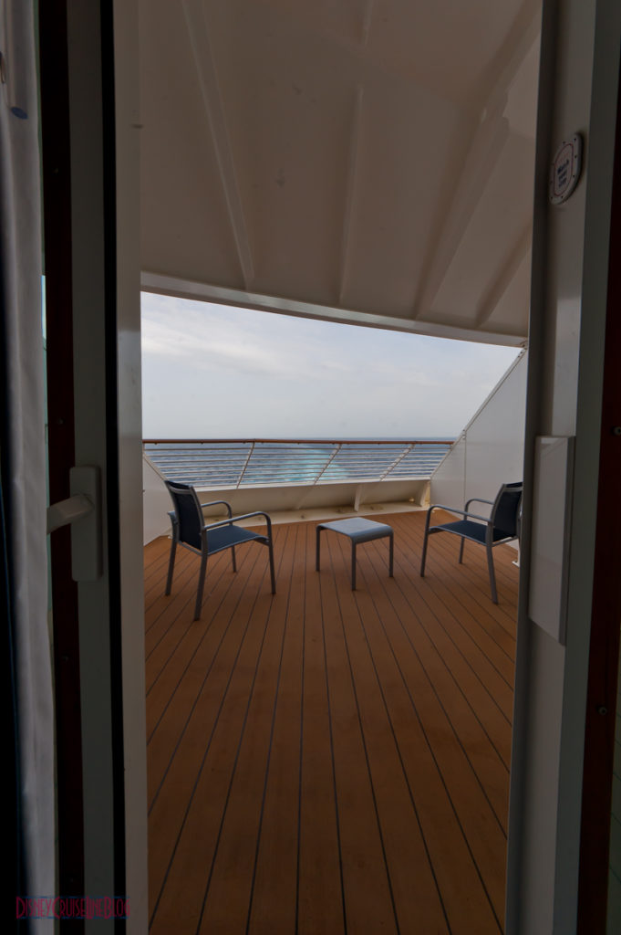 Stateroom 9674 - Stateroom view of Aft Verandah