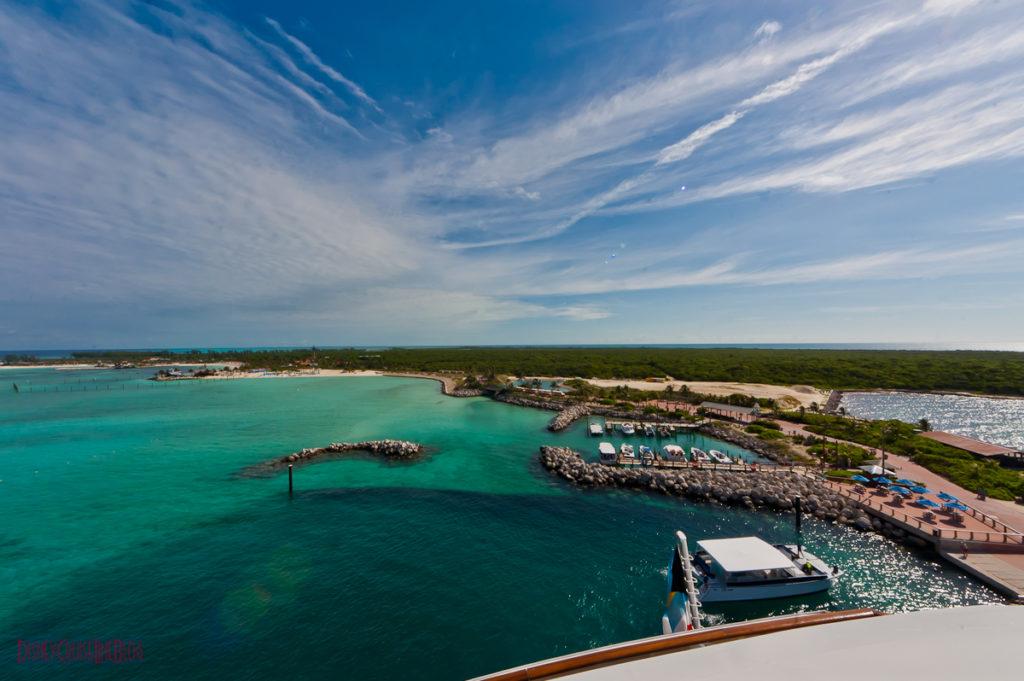 Stateroom 9674 - Verandah View of Castaway Cay