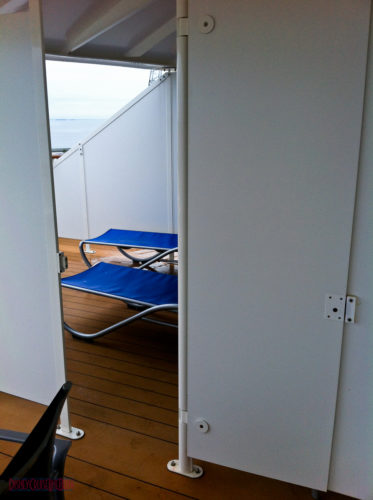 Stateroom 9674 - Verandah Connecting Door