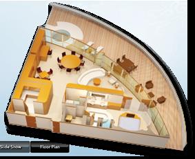 Concierge Royal Suite with Verandah   Diagram