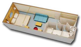 Deluxe Inside Stateroom Diagram