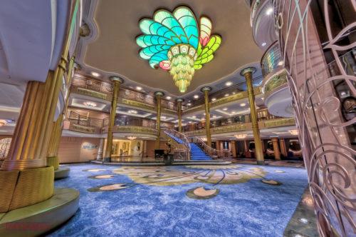 Disney Fantasy - Atrium Lobby