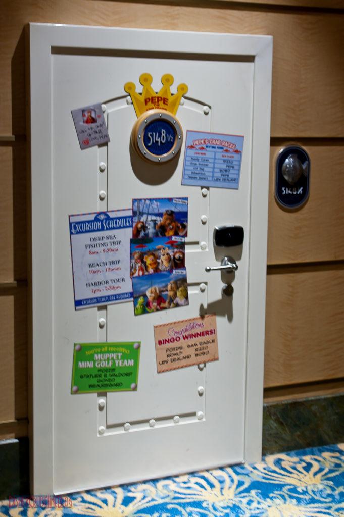 Pepe's Stateroom Door 5148 ½ Disney Fantasy