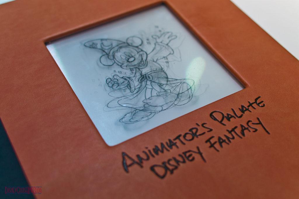 Animator's Palate - Menu
