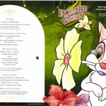 Enchanted Garden - Children's Menu