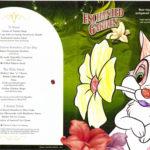 Enchanted Garden - Children's Menu