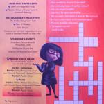 Kids Menu Sunday Incredibles January 2014 Magic