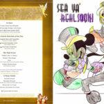 Sea Ya' Real Soon Dinner - Children's Menu