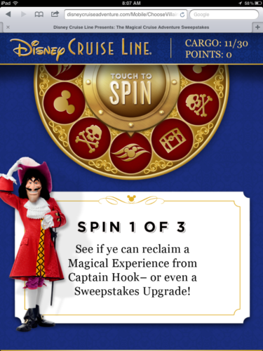 Magical Cruise Adventure Mobile - Hook Challenge