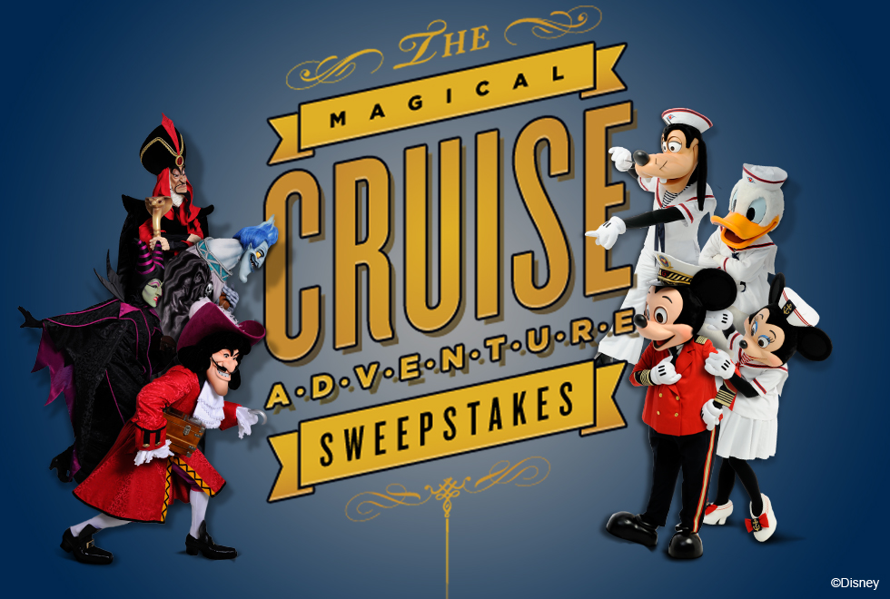 Magical Cruise Adventure - Sweepstakes Logo