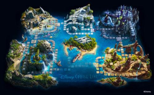 Magical Cruise Adventure - Game Board