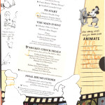 Mickey Check Childrens Menus Magic February 2015 Animators Palate