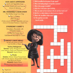 Mickey Check Childrens Menus Magic February 2015 Incredibles Sunday