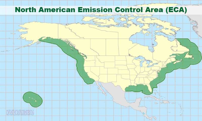 North American Emission Control Area ECA and the Effects on the