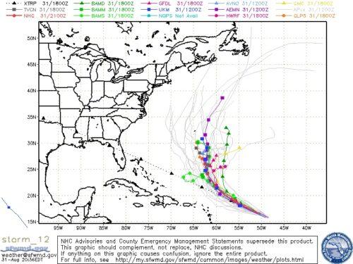 Tropical Storm Leslie Spaghetti 20120831-210727
