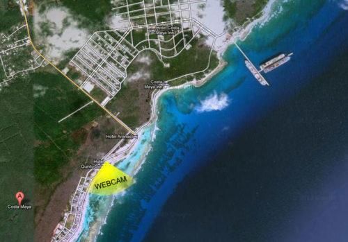 Costa Maya Webcam Location