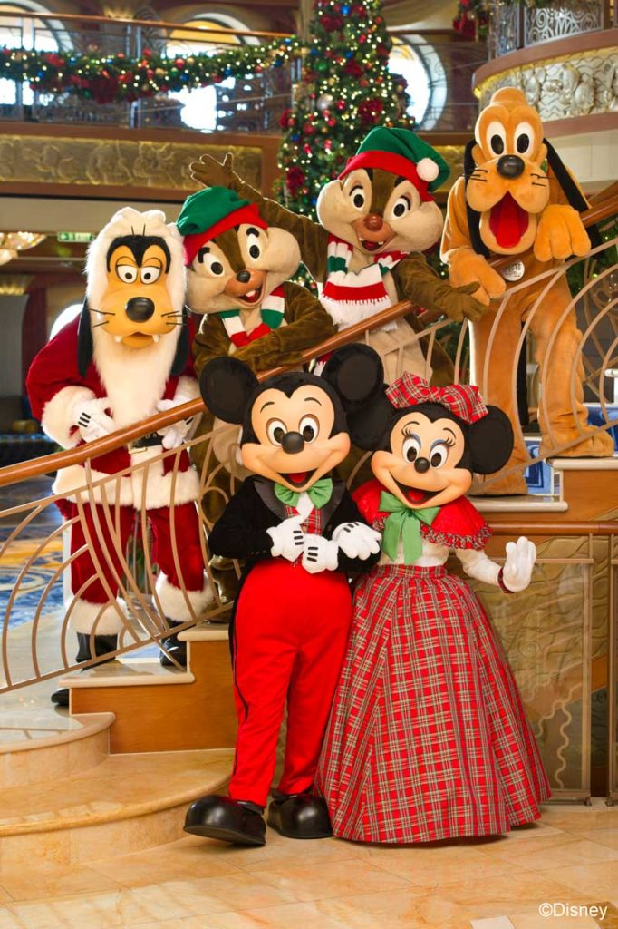 Winter Holidays Christmas Photo Mickey & the Gang