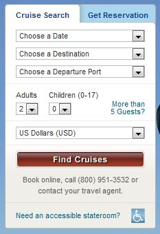 How to Search for a Special Disney Cruise Offer Using a Booking Code