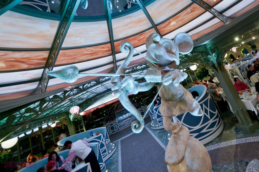 Enchanted Garden - Mickey Mouse Cherub