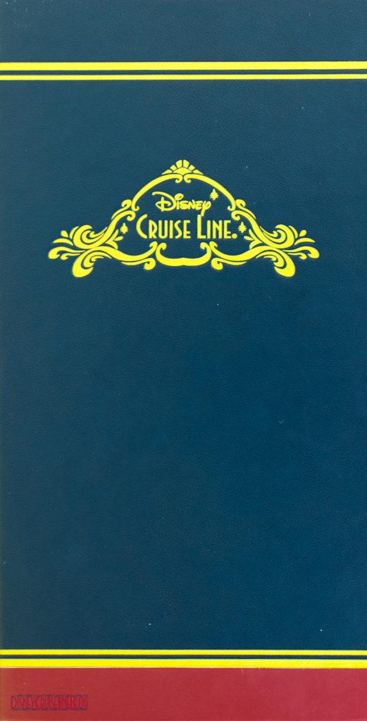 Disney Cruise Line - Drink Bar Menu Cover
