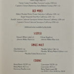 Disney Cruise Line - Drink Bar Menu II