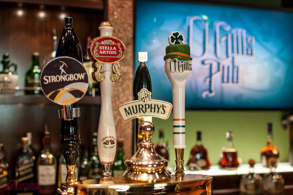 Beers on Tap at O'Gills Pub