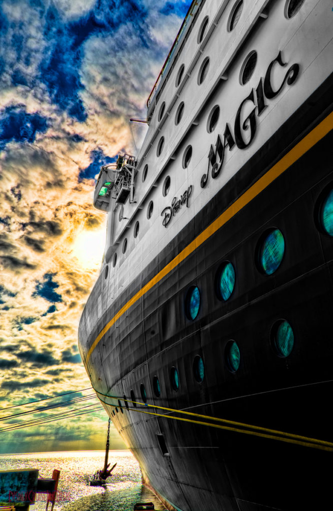 Disney Magic at Castaway Cay HDR