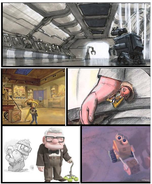 Pixar Art Samples