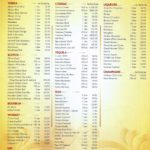 WhiteCaps Duty Free Liquor Price List