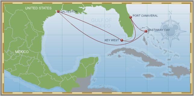 8-Night Bahamian Cruise on Disney Magic Galveston